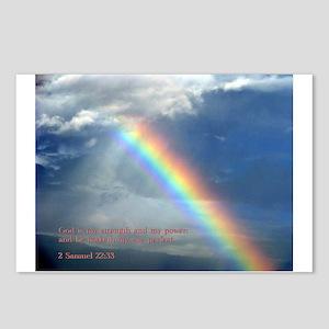 2 Samuel 22:33 Postcards (Package of 8)