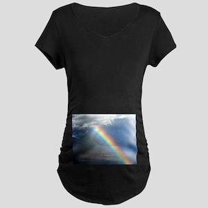 2 Samuel 22:33 Maternity Dark T-Shirt