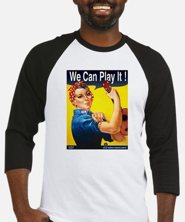 We Can Play It! Baseball Jersey