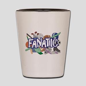 Sports Fanatic Shot Glass