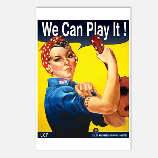 We Can Play It! Postcards (Package of 8)