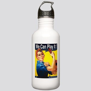 We Can Play It! Stainless Water Bottle 1.0L