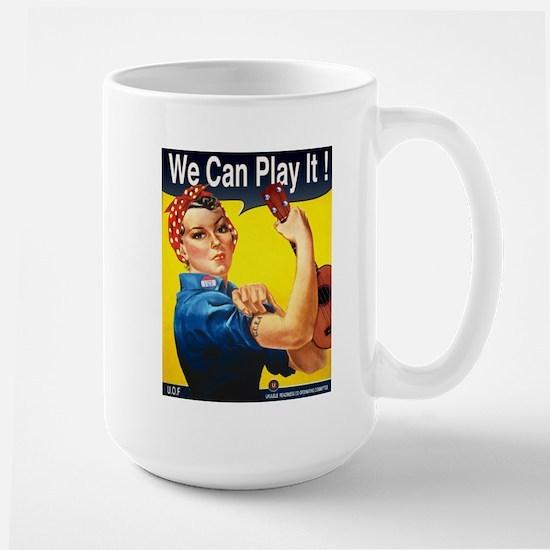 We Can Play It! Large Mug