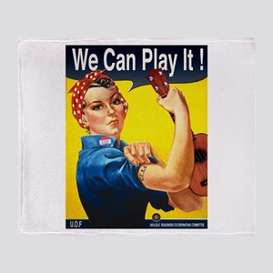 We Can Play It! Throw Blanket