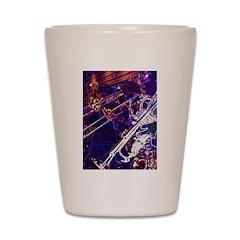 Mardi Gras Moment Shot Glass