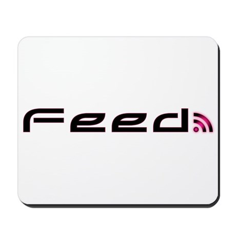 Pink RSS Feed Mousepad