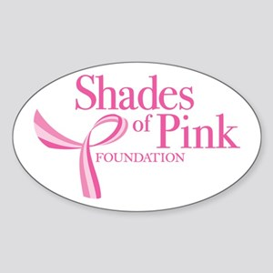 Shades of Pink Foundation Sticker (Oval)