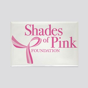 Shades of Pink Foundation Rectangle Magnet
