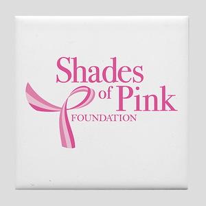 Shades of Pink Foundation Tile Coaster