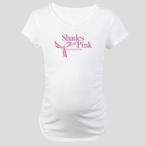 Shades of Pink Foundation Maternity T-Shirt