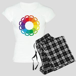 Kettlebell Color Wheel Women's Light Pajamas