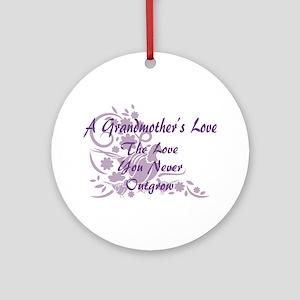 Grandmother Love Ornament (Round)