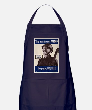 Your Ukulele Friend Apron (dark)