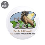 """American Blackbelly 3.5"""" Button (10 pack)"""