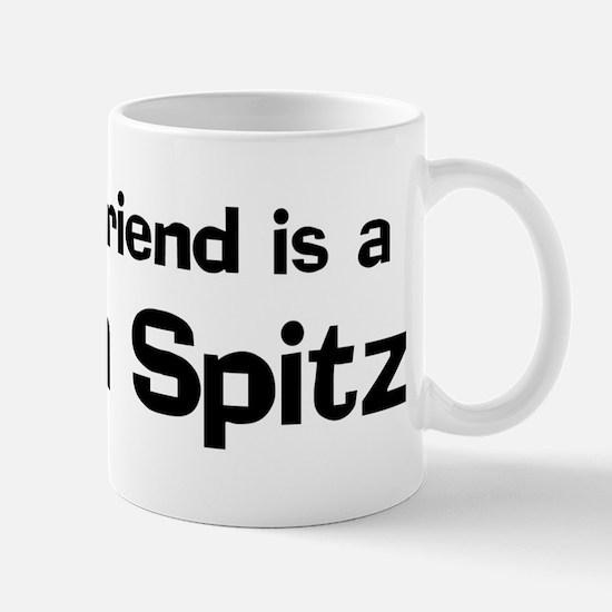 Best friend: Finnish Spitz Mug