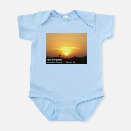 Ephesians 5:25 Infant Bodysuit
