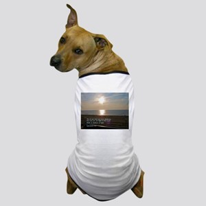 Ephesians 5:8 Dog T-Shirt