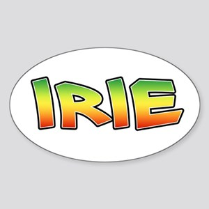 Irie Sticker (Oval)