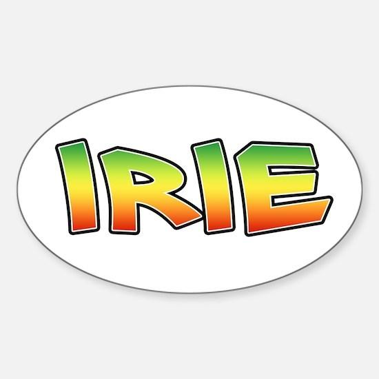 Irie Sticker (Oval)