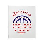 American Peace Throw Blanket