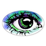 Big Brother Sticker (Oval 50 pk)