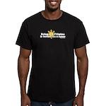 Half Filipino Men's Fitted T-Shirt (dark)