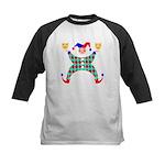Jester Clown Kids Baseball Jersey