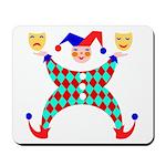 Jester Clown Mousepad