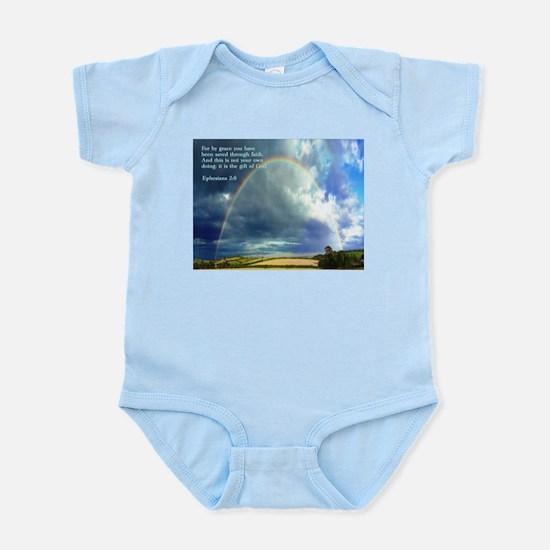 Ephesians 2:8 Infant Bodysuit