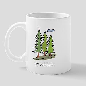 get-outdoors Mugs