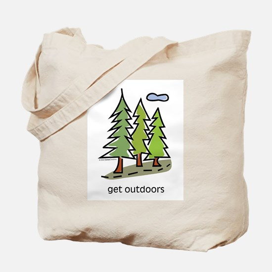 Cute Outdoors Tote Bag