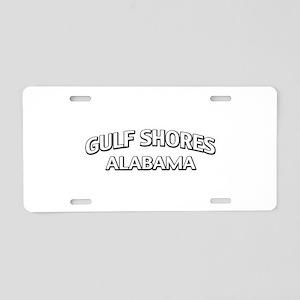 Gulf Shores Alabama Aluminum License Plate