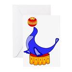 Seal Greeting Cards (Pk of 10)