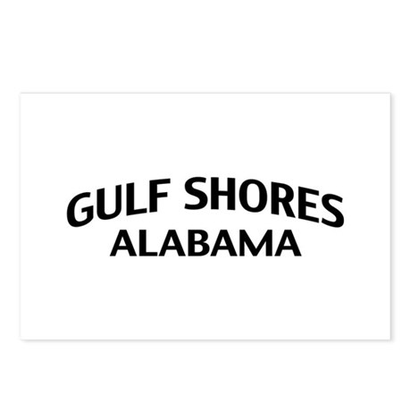 Gulf Shores Alabama Postcards (Package of 8)