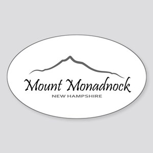 Mount Monadnock Sticker (Oval)