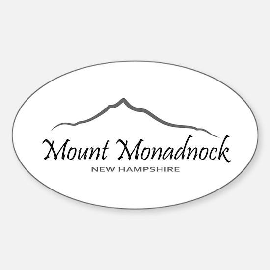 Mount Monadnock Sticker (Oval)