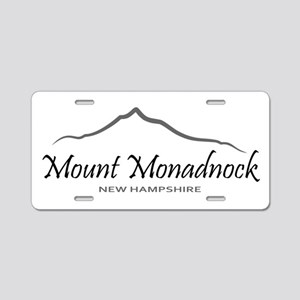 Mount Monadnock Aluminum License Plate