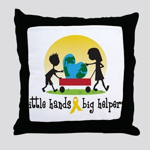 For The Home Throw Pillow