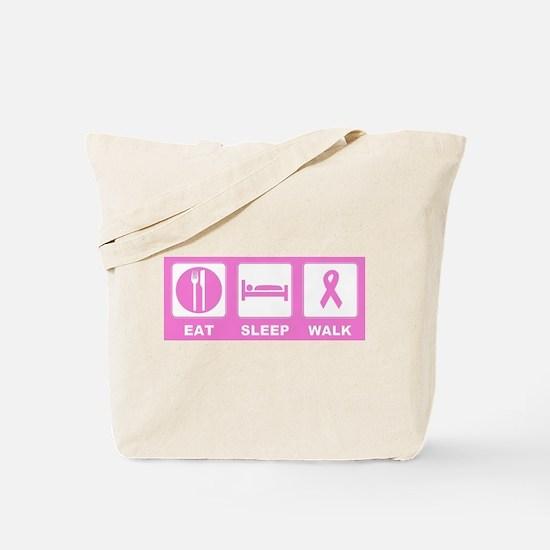 Eat Sleep Walk Tote Bag