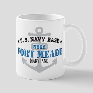 US Navy Fort Meade Base Mug