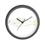 White (Sand) Seatrout Wall Clock