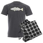 White (Sand) Seatrout Men's Charcoal Pajamas