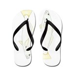 White (Sand) Seatrout Flip Flops