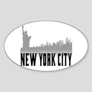 New York City Sticker (Oval)