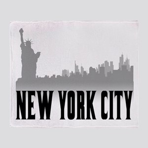 New York City Throw Blanket