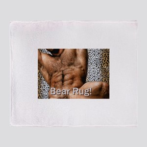 Bear Rug: AriesArtist.com Throw Blanket