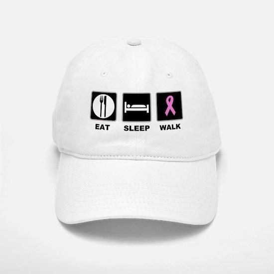 Eat Sleep Walk Baseball Baseball Cap