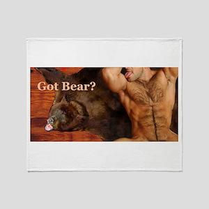 Got Bear? AriesArtist.com Throw Blanket
