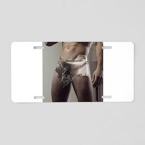 Chastity Belt Aluminum License Plate