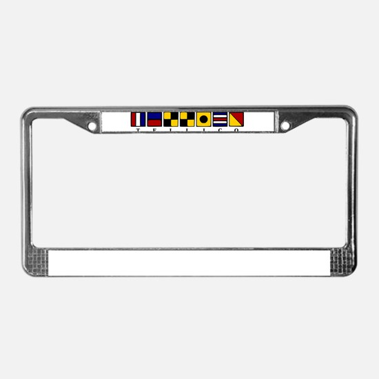 Tellico Lake License Plate Frame
